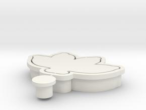 banana-cookiecutter in White Natural Versatile Plastic