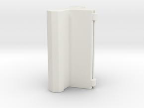 Bobby Backpack strap fixer in White Natural Versatile Plastic