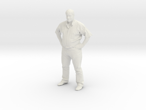 Printle F Jose Mujica - 1/18 - wob in White Natural Versatile Plastic