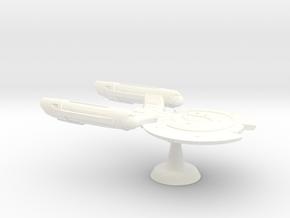 Terran Cestus Class Escort - Type I - 1:7000 in White Processed Versatile Plastic