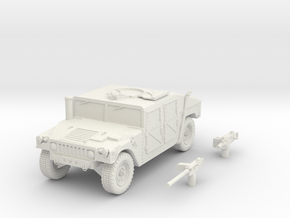 humvee scale 1/87 in White Natural Versatile Plastic