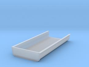 Flache_Mulde_ohneSpannten in Smooth Fine Detail Plastic
