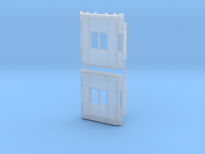 Caboose Bay Window Set in Smoothest Fine Detail Plastic