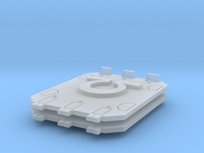 Ultra Marines Jericho tank doors in Smooth Fine Detail Plastic