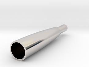 Replacement Glass Globe Oil/Wax Vapor Atomiz Shell in Platinum