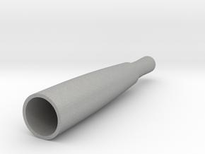 Replacement Glass Globe Oil/Wax Vapor Atomiz Shell in Aluminum