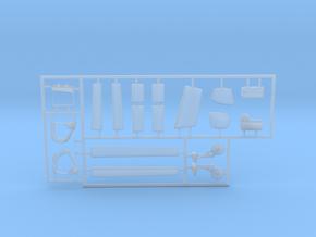LA-250-Renegade-144scale-07-PartsFret-white in Smooth Fine Detail Plastic