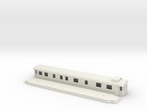 Bo7 - Swedish passenger wagon in White Natural Versatile Plastic