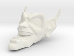 Goblin Mask-40mm Maximum Overdrive in White Natural Versatile Plastic