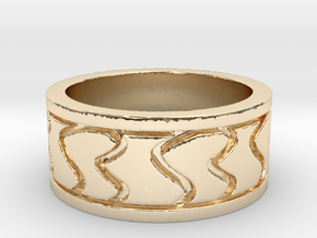 My Awesome Ring Design Ring Size 7 in 14K Yellow Gold
