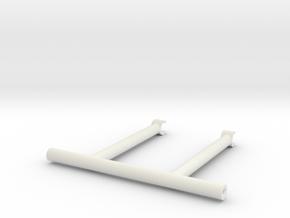 SMT10 Windshield Roll Bar in White Natural Versatile Plastic: 1:10