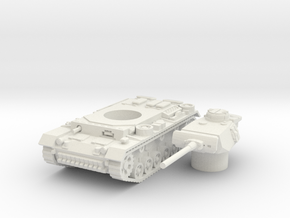 panzer III L scale 1/87 in White Natural Versatile Plastic