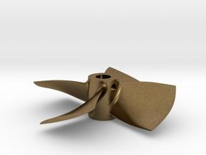 "1.75"" - BKSP RH - 3/16"" Shaft in Natural Bronze"