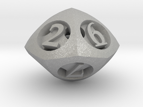 Overstuffed d10 in Aluminum