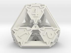 Premier Die4 in White Premium Versatile Plastic