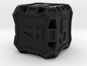 Premier Die6 in Black Premium Versatile Plastic