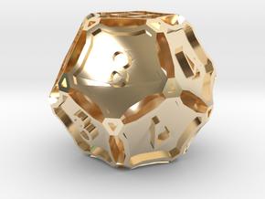 Premier Die12 in 14K Yellow Gold