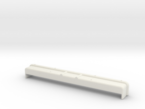 clod front bumper in White Natural Versatile Plastic