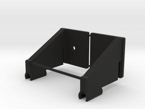 Wire Board Clip Set Rev A in Black Natural Versatile Plastic