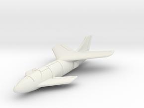 "(1:144) Messerschmitt Me P.1110 ""Ente"" in White Natural Versatile Plastic"
