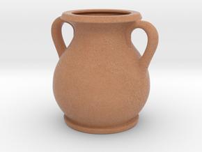 Terracotta vase in Full Color Sandstone