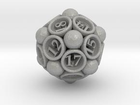 Spore d20 in Aluminum