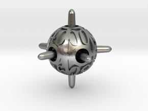 Sputnik d10 Decader in Natural Silver