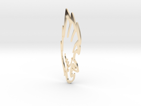 Eagle in 14K Yellow Gold: Medium
