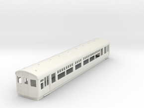 o-76-lner-dr-trailer-1st-coach in White Natural Versatile Plastic