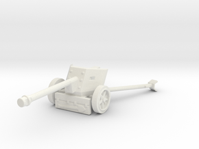 pak 40 scale 1/87 in White Natural Versatile Plastic