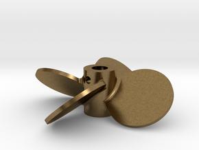 "1.75"" - BBP 40º RH - 3/16"" Shaft in Natural Bronze"