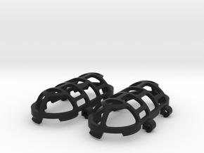 Pendant Cage in Black Premium Versatile Plastic