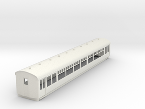o-32-lner-trailer-3rd-coach in White Natural Versatile Plastic