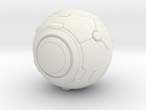 Zenyatta orb in White Natural Versatile Plastic
