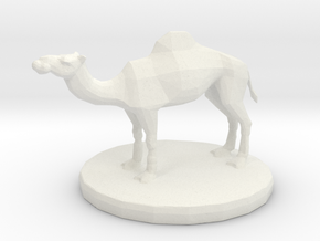 6mm Camel in White Natural Versatile Plastic