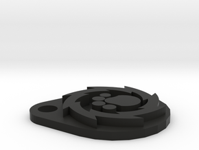 Pup Wheel in Black Natural Versatile Plastic