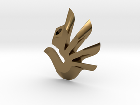 Dove  in Polished Bronze