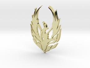 Bird Cendrawasih in 18k Gold