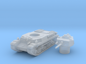 turan I scale 1/87 in Smooth Fine Detail Plastic