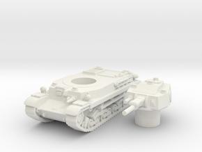 turan II scale 1/100 in White Natural Versatile Plastic