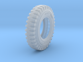 1/16 tire 900x16 in Smooth Fine Detail Plastic