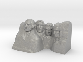 Mount Rushmore Monument in Aluminum