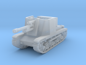 Turan I Czech SPG 1947  1:144 in Smooth Fine Detail Plastic