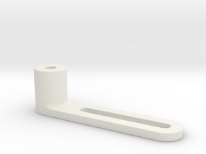 1:7.6 Ecureuil AS 350 / Landingframe Part 08 in White Natural Versatile Plastic