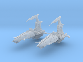 Blade Frigates (2) in Smooth Fine Detail Plastic