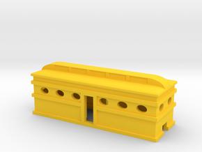 Oval Window Coach in Yellow Processed Versatile Plastic