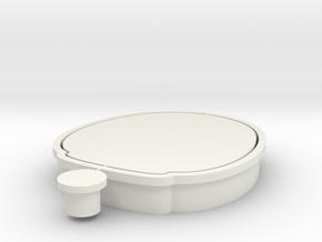 daruma-cookiecutter in White Natural Versatile Plastic