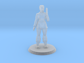 Space Officer 2 in Smooth Fine Detail Plastic