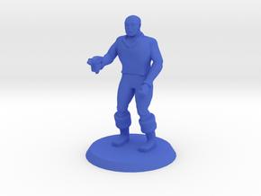 Space Officer 3 in Blue Processed Versatile Plastic