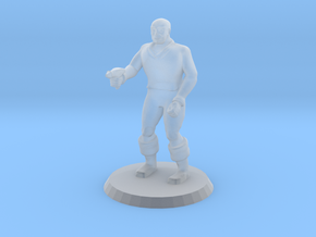 Space Officer 3 in Smooth Fine Detail Plastic